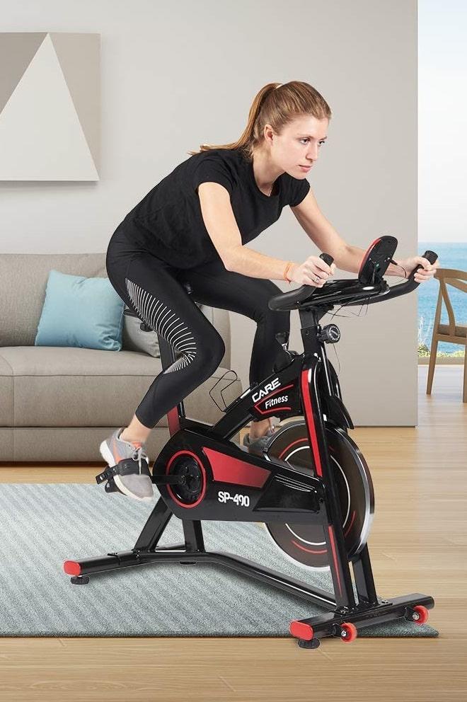 vélo d'appartement care fitness